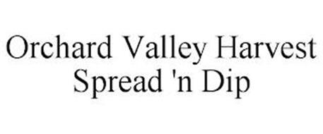 ORCHARD VALLEY HARVEST SPREAD 'N DIP
