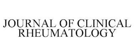 JOURNAL OF CLINICAL RHEUMATOLOGY