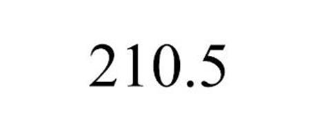 210.5