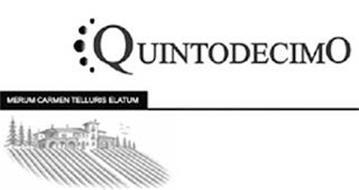 QUINTODECIMO MERUM CARMEN TELLURIS ELATUM