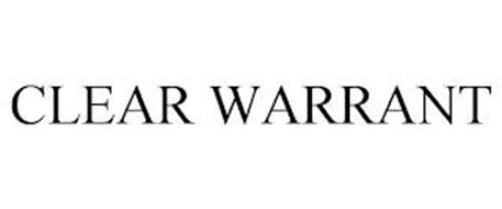 CLEAR WARRANT