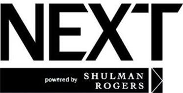 NEXT POWERED BY SHULMAN ROGERS