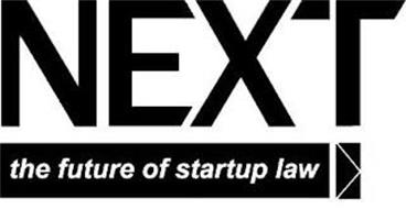 NEXT THE FUTURE OF STARTUP LAW