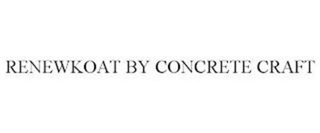 RENEWKOAT BY CONCRETE CRAFT