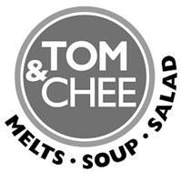 TOM & CHEE MELTS · SOUP · SALAD