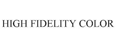 HIGH FIDELITY COLOR