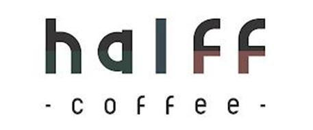 HALFF · COFFEE ·