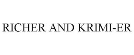 RICHER AND KRIMI-ER