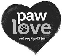 PAW LOVE TREAT EVERY DAY WITH LOVE