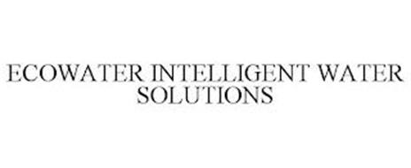 ECOWATER INTELLIGENT WATER SOLUTIONS
