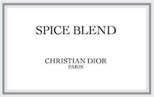 SPICE BLEND CHRISTIAN DIOR PARIS