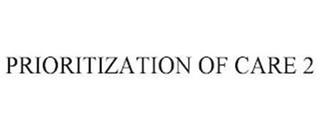 PRIORITIZATION OF CARE 2
