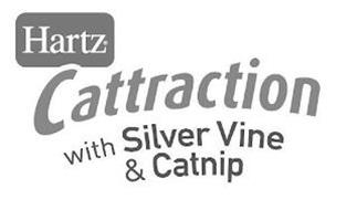HARTZ CATTRACTION WITH SILVER VINE & CATNIP