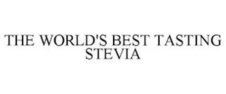 THE WORLD'S BEST TASTING STEVIA