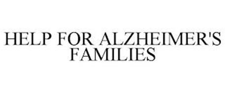 HELP FOR ALZHEIMER'S FAMILIES