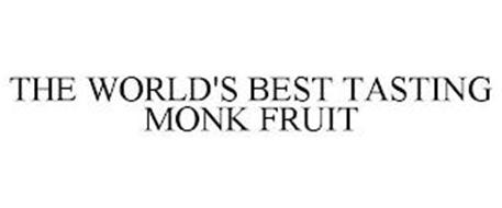 THE WORLD'S BEST TASTING MONK FRUIT