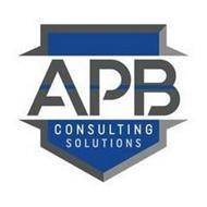 APB CONSULTING SOLUTIONS