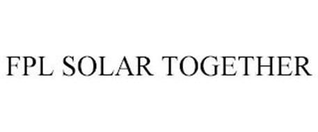FPL SOLAR TOGETHER