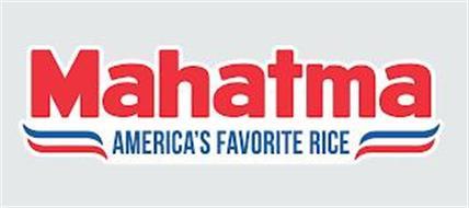MAHATMA AMERICA'S FAVORITE RICE
