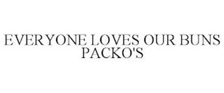 EVERYONE LOVES OUR BUNS PACKO'S