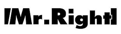 |MR. RIGHT|