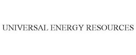 UNIVERSAL ENERGY RESOURCES
