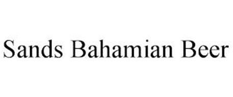 SANDS BAHAMIAN BEER