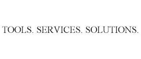 TOOLS. SERVICES. SOLUTIONS.