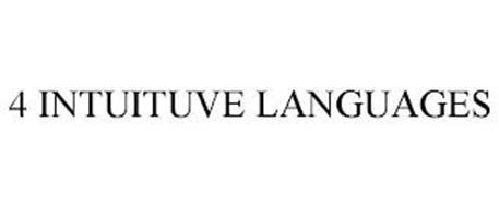4 INTUITIVE LANGUAGES