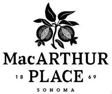 MACARTHUR PLACE 1869 SONOMA