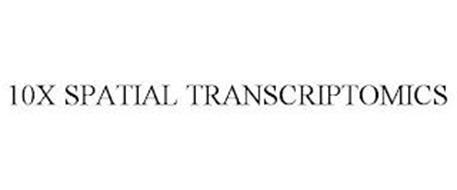 10X SPATIAL TRANSCRIPTOMICS