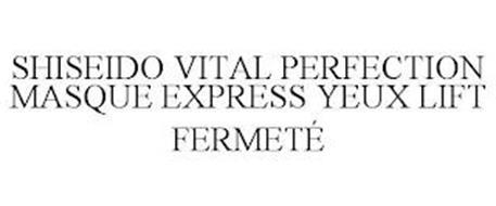 SHISEIDO VITAL PERFECTION MASQUE EXPRESS YEUX LIFT FERMETÉ