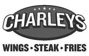 CHARLEYS WINGS · STEAK · FRIES