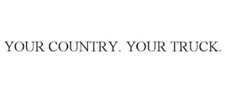 YOUR COUNTRY. YOUR TRUCK.