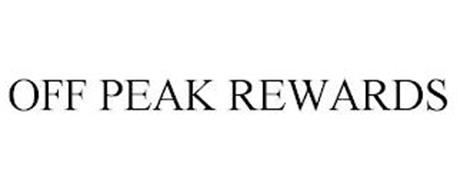 OFF PEAK REWARDS