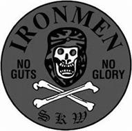 IRONMEN NO GUTS NO GLORY SKW