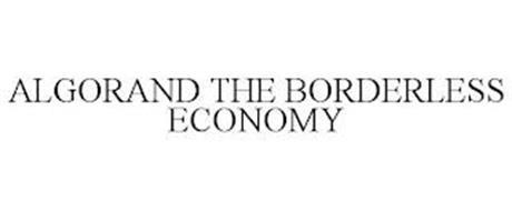 ALGORAND THE BORDERLESS ECONOMY