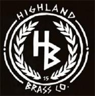 HIGHLAND BRASS CO. HB 15