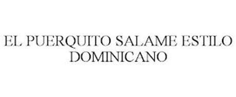 EL PUERQUITO SALAME ESTILO DOMINICANO