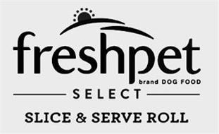 FRESHPET BRAND DOG FOOD SELECT SLICE & SERVE ROLL
