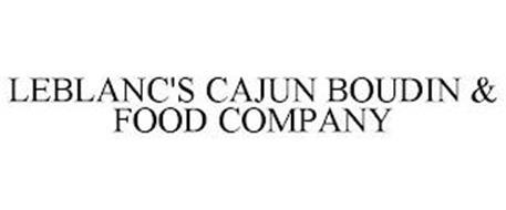 LEBLANC'S CAJUN BOUDIN & FOOD COMPANY