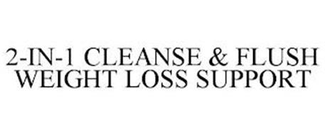 2-IN-1 CLEANSE & FLUSH WEIGHT LOSS SUPPORT