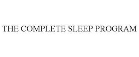 THE COMPLETE SLEEP PROGRAM