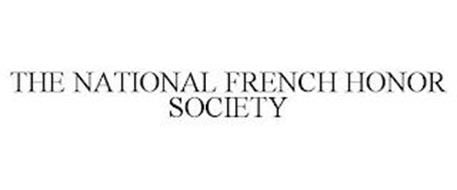 THE NATIONAL FRENCH HONOR SOCIETY