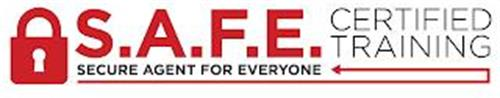S.A.F.E. CERTIFIED TRAINING SECURE AGENT FOR EVERYONE
