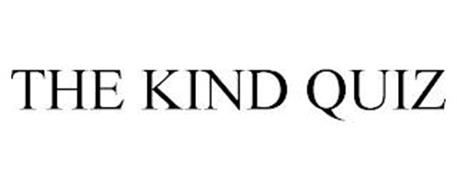 THE KIND QUIZ