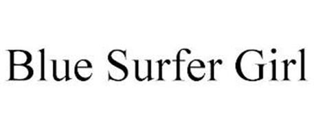 BLUE SURFER GIRL