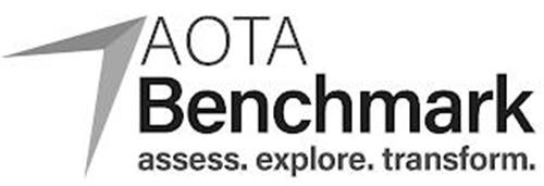 AOTA BENCHMARK ASSESS. EXPLORE. TRANSFORM.
