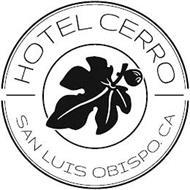 HOTEL CERRO SAN LUIS OBISPO. CA