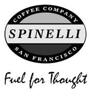 SPINELLI COFFEE COMPANY SAN FRANCISCO FUEL FOR THOUGHT